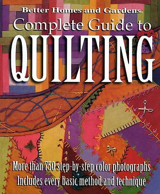 Complete Guide to Quilting, Better Homes & Gardens, Books