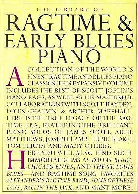 The Library of Ragtime and Early Blues Piano (Library of Series), Good Books