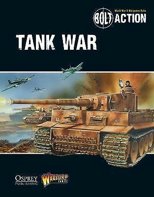 NEW Bolt Action: Tank War by Warlord Games Paperback Book (English) Free Shippin