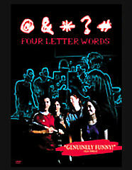 FOUR LETTER WORDS  (DVD, 2005)BNISW DAY U PAY IT SHIPS FREE