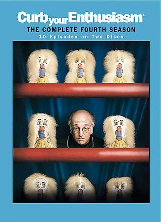 Curb Your Enthusiasm: The Complete Fourth Season, DVD, Larry David, Cheryl Hines