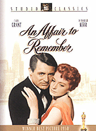 An Affair to Remember, DVD, Cary Grant, Deborah Kerr, Richard Denning, Neva Patt