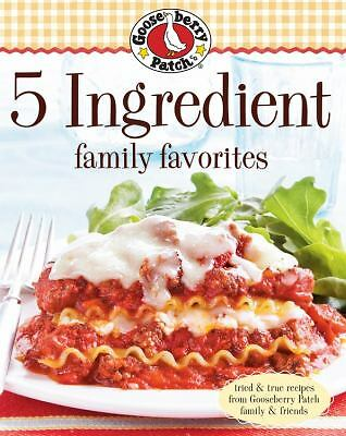 Gooseberry Patch 5 Ingredient Family Favorites, Good Books