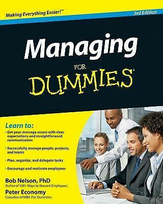Managing For Dummies, Good Books