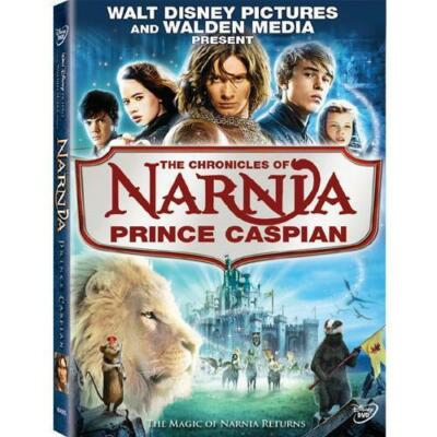 The Chronicles of Narnia: Prince Caspian, DVD, Ben Barnes, Georgie Henley, Anna