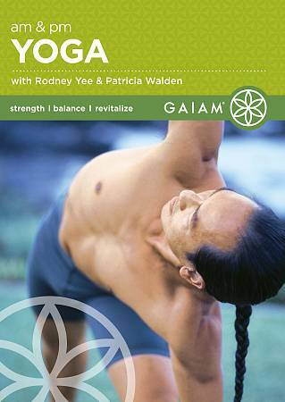 A.M. and P.M. Yoga, DVD, Rodney Yee, Patricia Walden, Steve Adams, Color, DVD, N