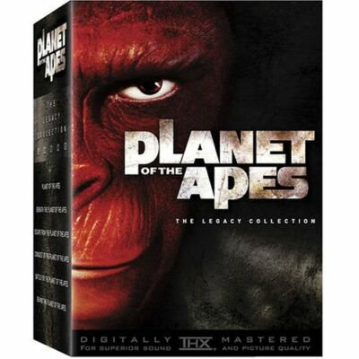 Planet of the Apes - The Legacy Collection (Five Discs), Good DVDs