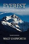 Everest : A Mountaineering History, Unsworth, Walt, Books