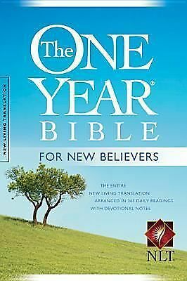 The One Year Bible for New Believers NLT, , Books