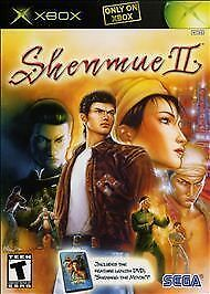 XBOX Shenmue II  BOTH DISCS $1 FOR OUR TROOPS (Microsoft Xbox, 2002)