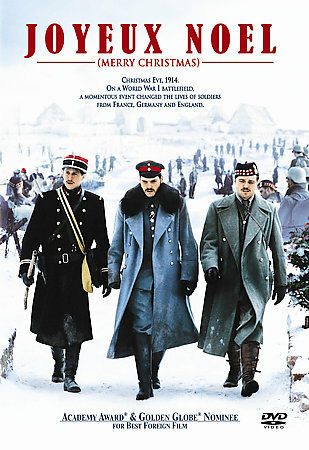 Joyeux Noel (Merry Christmas) DVD, Good DVDs