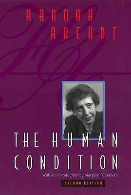 The Human Condition (2nd Edition), Hannah Arendt, Books