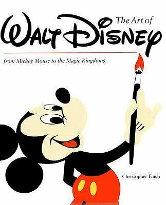 The Art of Walt Disney by Christopher Finch - 464 pages Abrams1995  * SEALED *