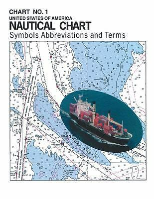 USA NAUTICAL CHART SYMBOLS ABBREVIATIONS AND TERMS BOOK