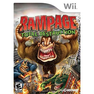 Rampage: Total Destruction - Nintendo Wii by