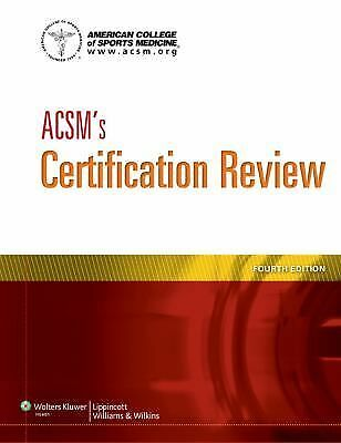 ACSM's Certification Review, Good Books