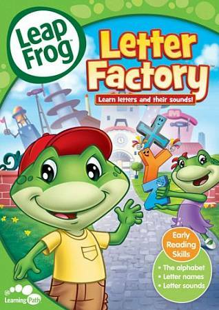 LeapFrog: Letter Factory, DVD, , Roy Allen Smith, Animated, Color, Dolby, DVD, F