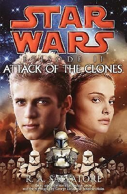 Star Wars Attack of the Clones by R. A. Salvatore (2002, Hardcover)