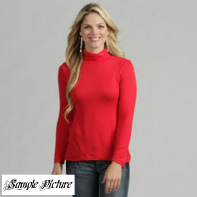 New White Stag Womens Mock Turtleneck Regular Size:S~M~L~XL~2X