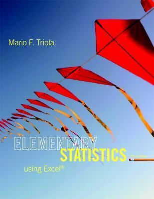 Elementary Statistics Using Excel (5th Edition), Good Books