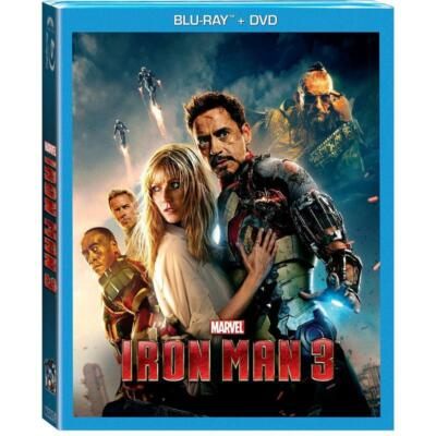 IRON MAN 3 (BLU-RAY + DVD), DVD, , ,