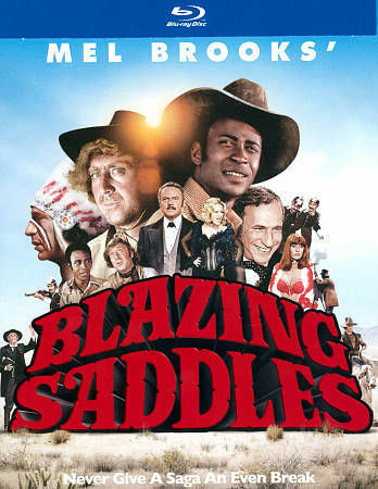 NEW Blazing Saddles (Blu-ray Disc, 2014, 40th Anniversary)