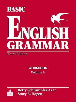 Basic English Grammar Workbook A with Answer Key, Good Books