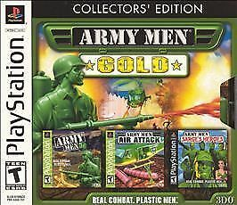 PS Army Men: Gold (Collectors Edition), Good Playstation Video Games