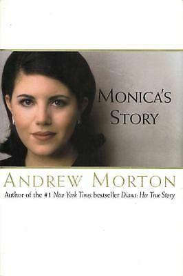 Monica's Story by Andrew Morton (1999, Hardcover)