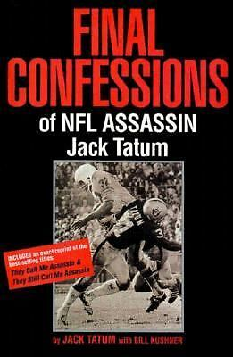 Final Confessions of NFL Assassin Jack Tatum, Good Books