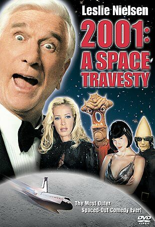 2001: A  SPACE TRAVESTY(DVD, 2002 LESLIE NEILSON BNIW DAY U PAY IT SHIPS FREE