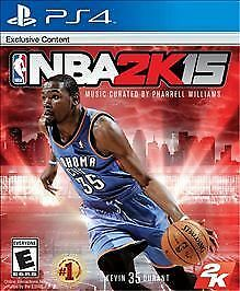 NBA 2K15 (NEW, Sony PlayStation 4, 2014)