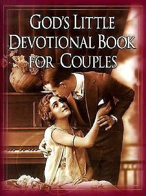 God's Little Devotional Book for Couples by Honor Books Publishing Staff...