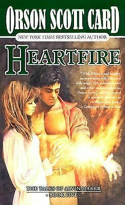 Alvin Maker Series: Heartfire 5 by Orson Scott Card (1999, Paperback, Revised)