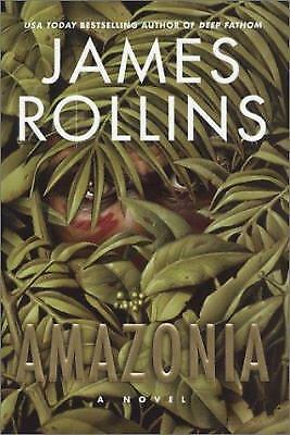 Amazonia: A Novel, James Rollins, Books