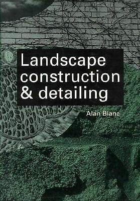 Landscape Construction and Detailing