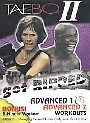 TaeBo II: Get Ripped Advanced Workout DVDs-Good Condition