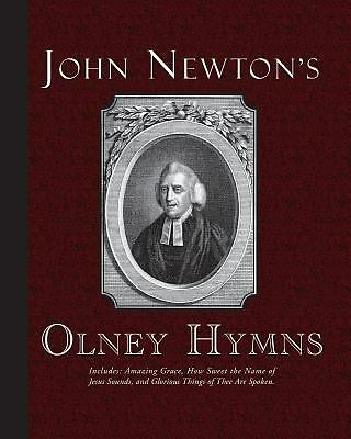 John Newton's Olney Hymns Newton, John Books-Good Condition