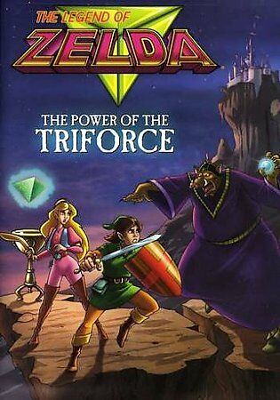 The Legend of Zelda: Power of the Triforce DVDs-Good Condition