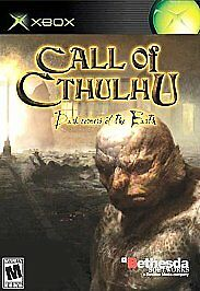 Call of Cthulhu: Dark Corners of the Earth Xbox, Xbox Video Games-Good Condition