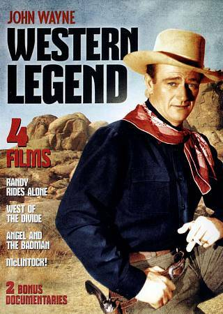 JOHN WAYNE Western Legend (DVD, 2012) OVER 7 HOURS OF GREAT ENTERTAINMENT