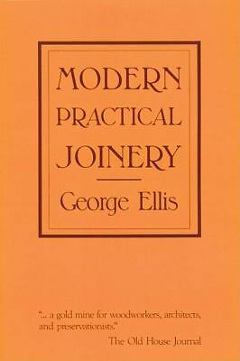 Modern Practical Joinery Ellis, George Books-Acceptable Condition