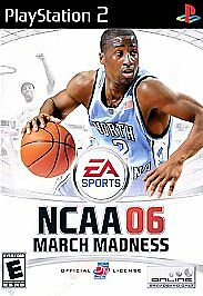NCAA March Madness 06  (Sony PlayStation 2, 2005) TESTED COMPLETE PS2 BASKETBALL