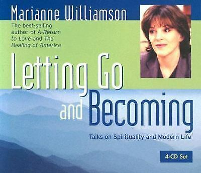 Letting Go and Becoming Williamson, Marianne Books-Good Condition