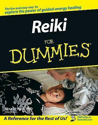 Reiki For Dummies Nina L. Paul Books-Good Condition