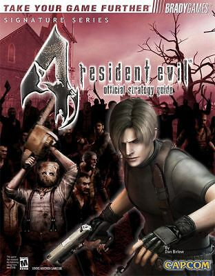Resident Evil 4 Official Strategy Guide Bradygames Signature Series