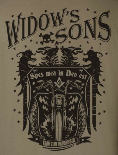 Vintage Masonic Motor Cycle T