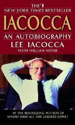 Iacocca: An Autobiography by Iacocca, Lee, Novak, William