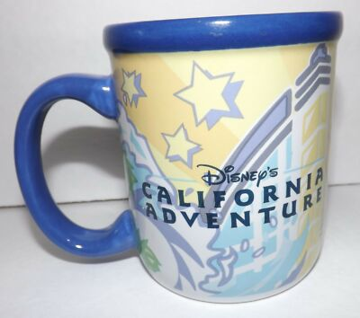Disneyland Disney California Adventure 2001 Souvenir Disney Parks Coffee Mug