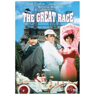 The Great Race, Good DVD, Jack Lemmon, Tony Curtis, Natalie Wood, Peter Falk, Ke
